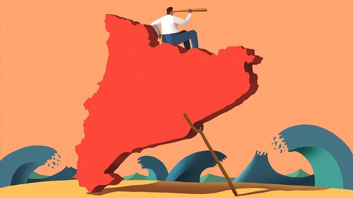 Bandera roja en Fonteta