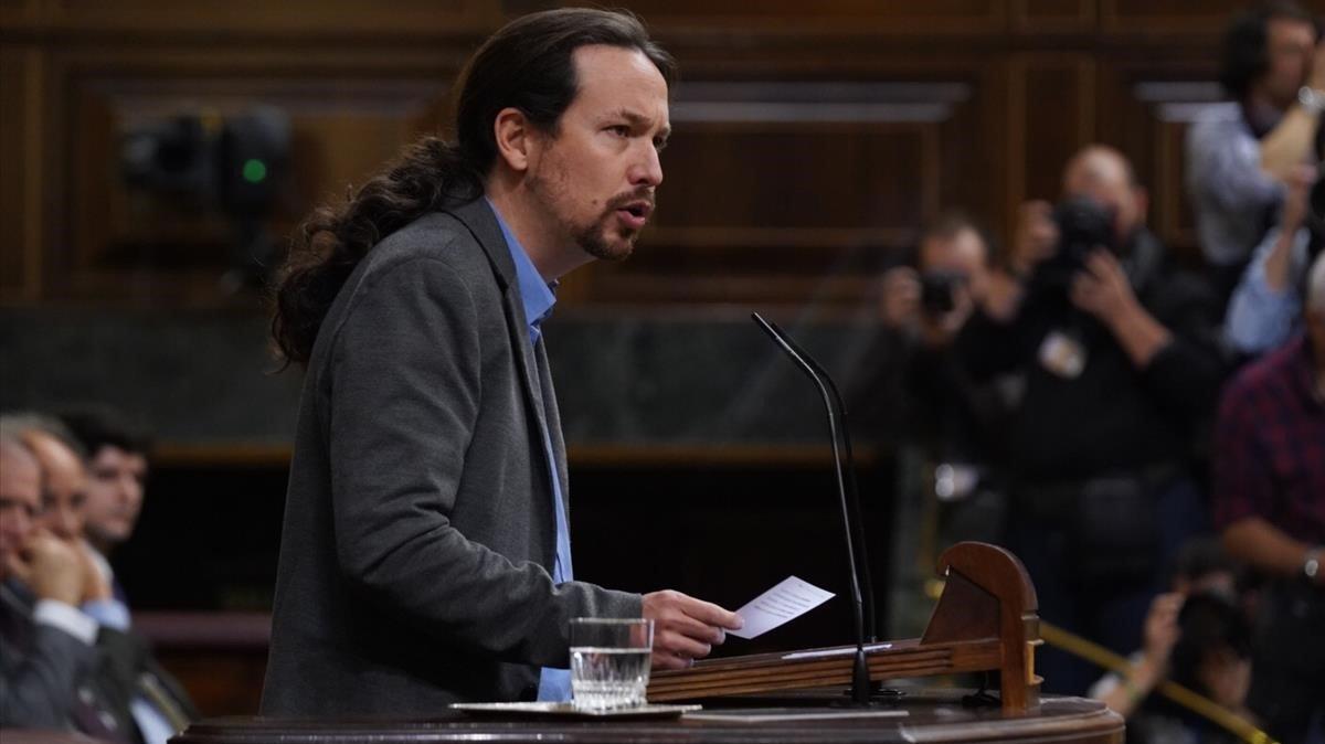 Iglesias, sobre les Vicepresidències: «Serà un honor i un privilegi compartir rang amb tres dones brillants»
