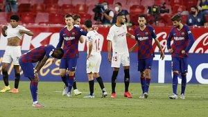 El Barça no pasa del empate a cero en Sevilla.