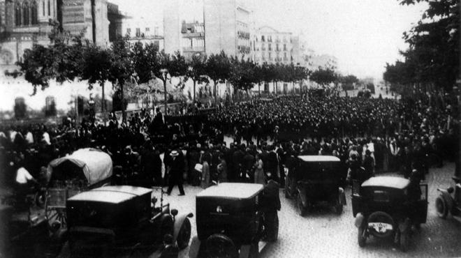 La muerte de Gaudí rememorada 90 años después.