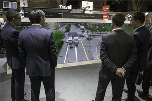 Estand de Huawei en la Smart City Expo de Barcelona.