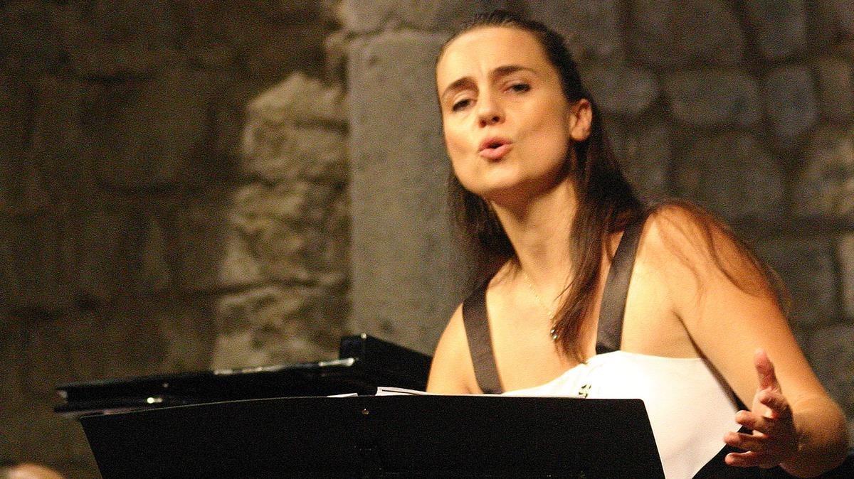 La cantante Núria Rial