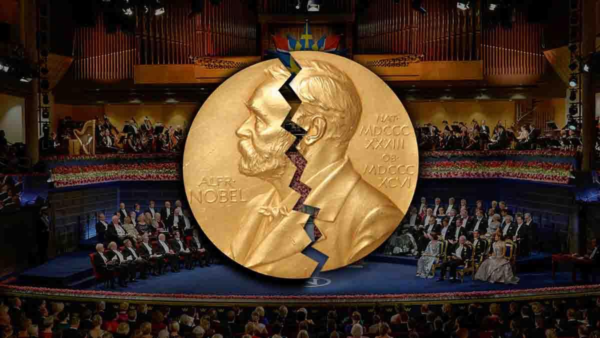 Resultado de imagen para entrega de premios de nobel