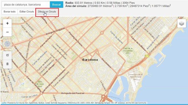 Cómo medir un kilómetro en el mapa para salir a la calle con los niños