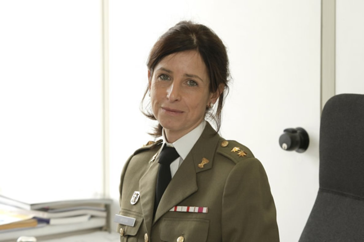 La coronelPatricia Ortega.