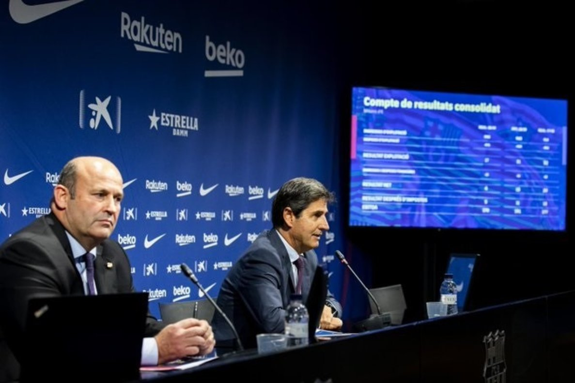 Presentación de cuentas del FC Barcelona.
