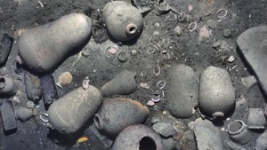 Les imatges que acrediten la troballa del 'sant greal dels naufragis'