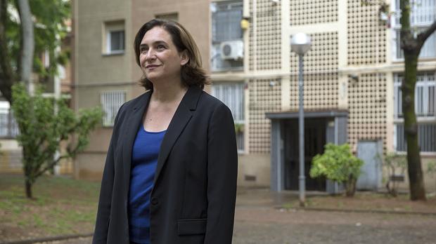 Ada Colau: «Som l'única garantia d'un govern progressista a Barcelona»