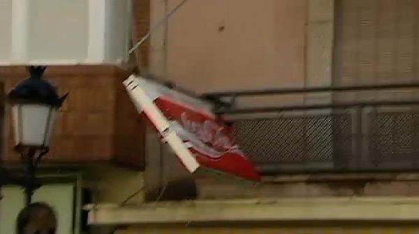 Alerta por fuertes vientos en Catalunya