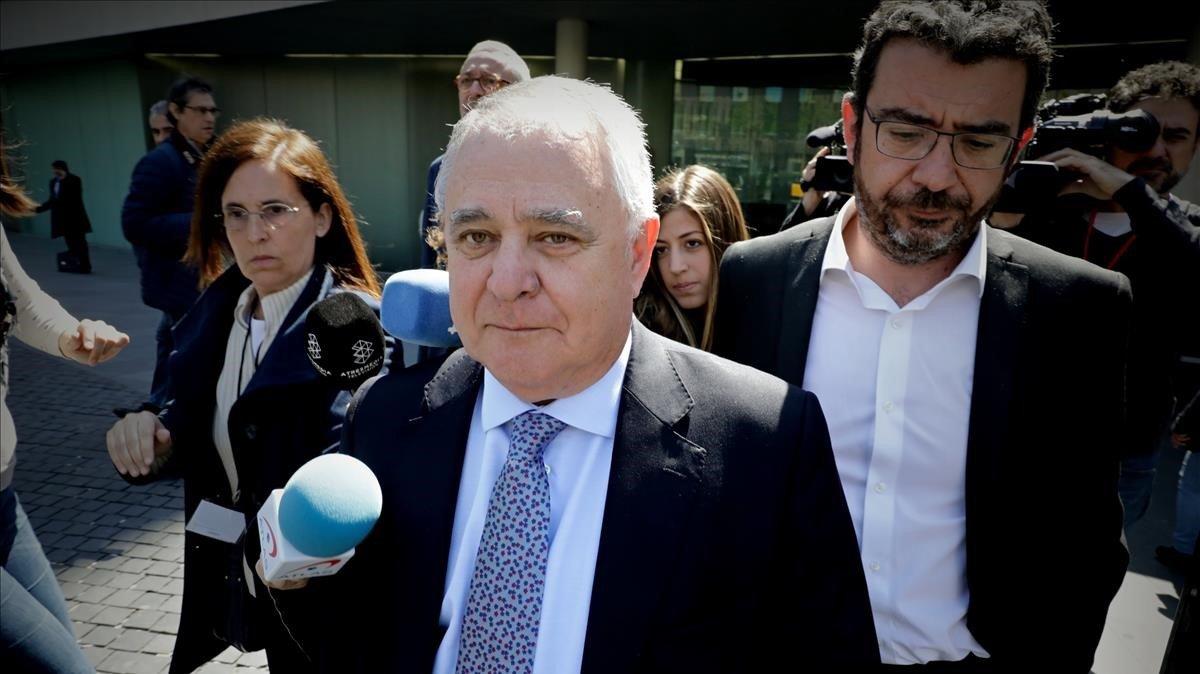 El extesorero de CDC Andreu Viloca