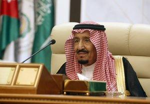 El rey saudí, Salmán bin Abdelaziz.