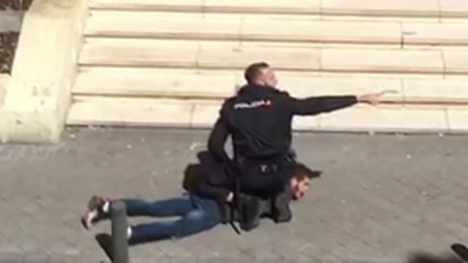 Detingut un algerià per agredir amb un matxet un compatriota davant una mesquita de Madrid