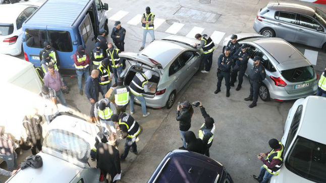 Audiencia autoriza a la Policía a inspeccionar archivos que los Mossos quería quemar.