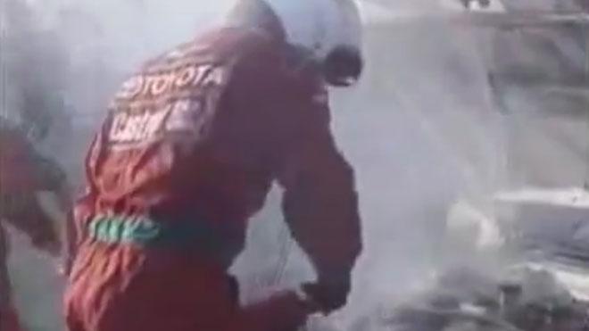 Avería de Carlos Sainz en el Rally de Inglaterra de 1998.