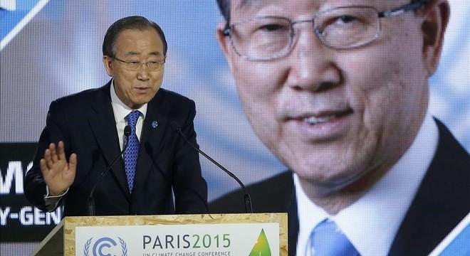 """Ban Ki-moon, sobre el clima: """"Sabemos las soluciones y nos queda poco tiempo"""""""