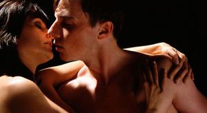 El beso como la expresión de amor.
