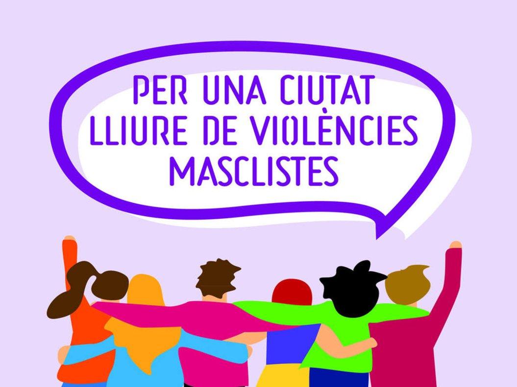 Campaña de Santa Coloma de Gramenet contra las violencias machistas.