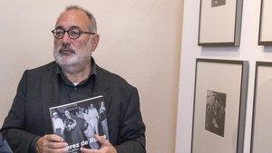 Carlos Pérez de Rozas, en la inauguración de la exposición 'Pérez de Rozas' en el Arxiu Fotogràfic de Barcelona, en noviembre del 2015.