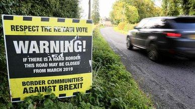 El 'brexit' encalla en la frontera de Irlanda