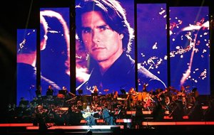 Concierto de música deHans Zimmer en el Palau Sant Jordi.