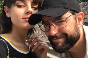 Dani Mateo y su novia, 15 años menor.