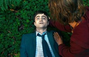 Daniel Radcliffe, en un fotograma de Swiss army man, premio del público en el Americana.