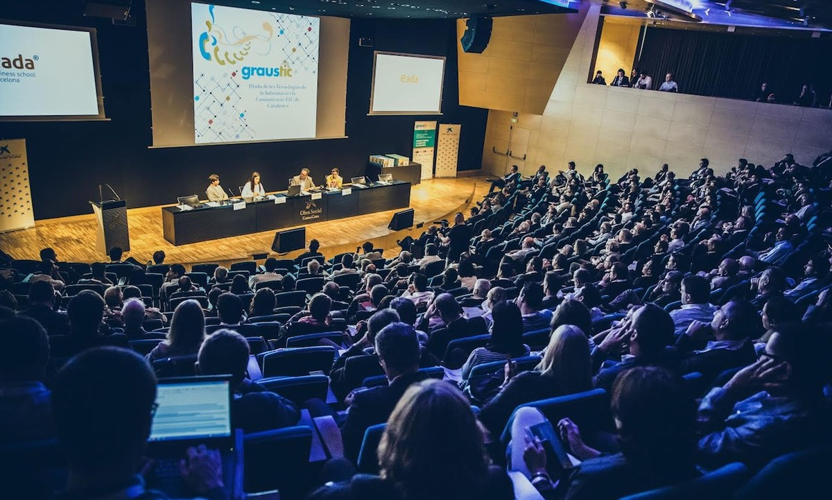 Asistentes a la última edición de la Diada TIC, celebrada en Barcelona.