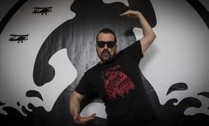 El director de cine Nacho Vigalondo, el viernes en el festival de Sitges.