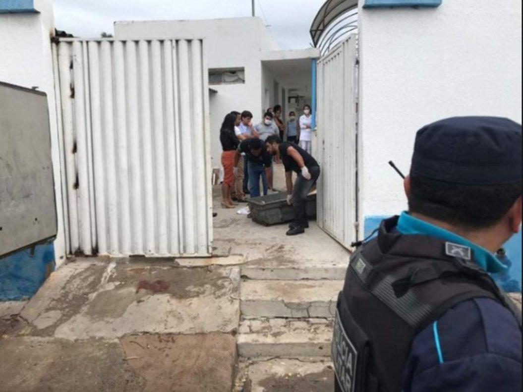 Enfrentamientos tras el asalto al banco en Milagres (Brasil).