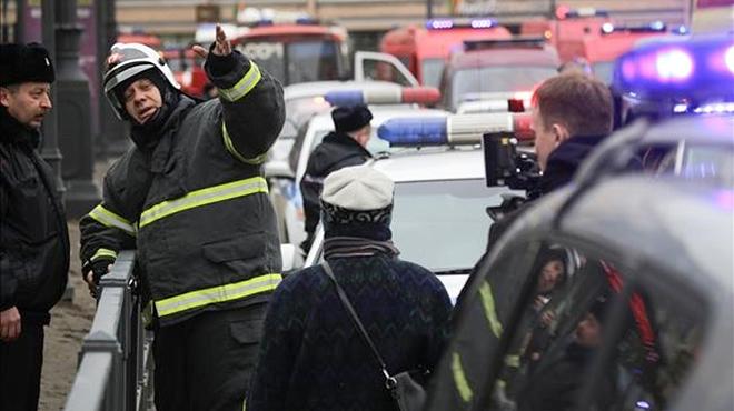 Explota un artefacto en San Petersburgo tras una operación policial.