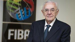 Fallece el ex secretario general de la FIBA, Boris Stankovic.