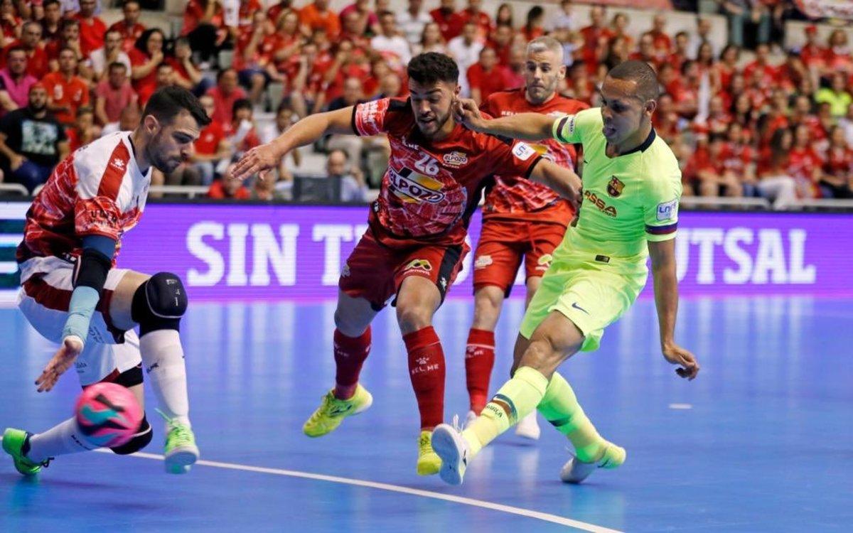 El Barça assalta Múrcia i lluitarà pel títol dissabte al Palau