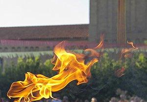 La Flama del Canigó, en Parets del Vallès.
