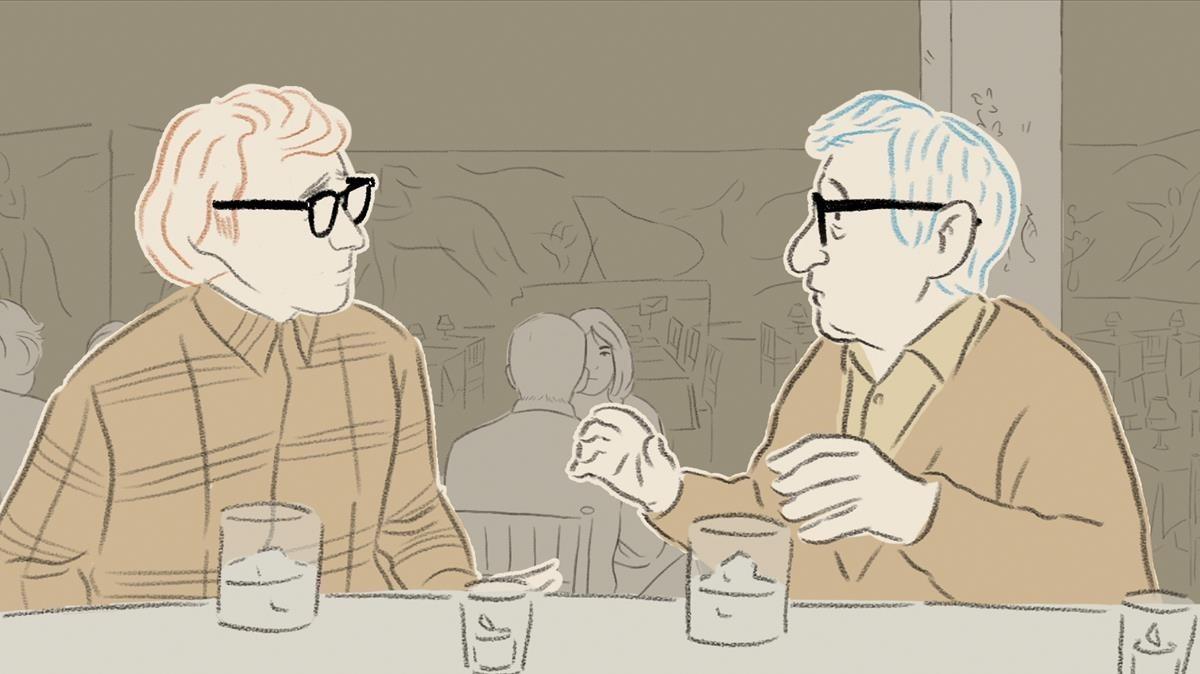 Fotograma de 'Woody & Woody', que compite por el Goya al mejor corto de animación