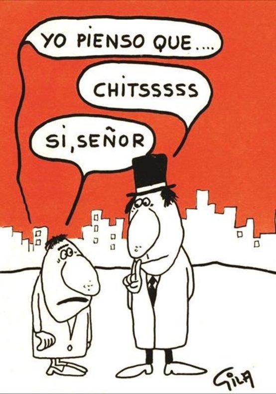 Las mejores viñetas antiautoritarias de Gila