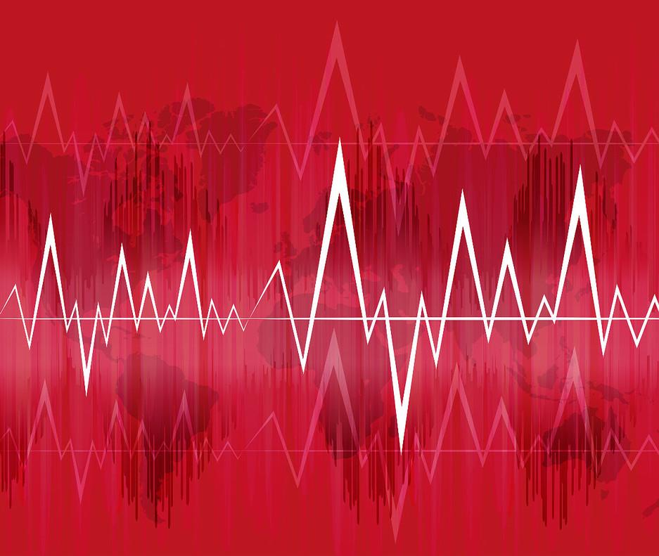 La Red Sísmica Canaria ha registrado esta tarde más de 500 terremotos.