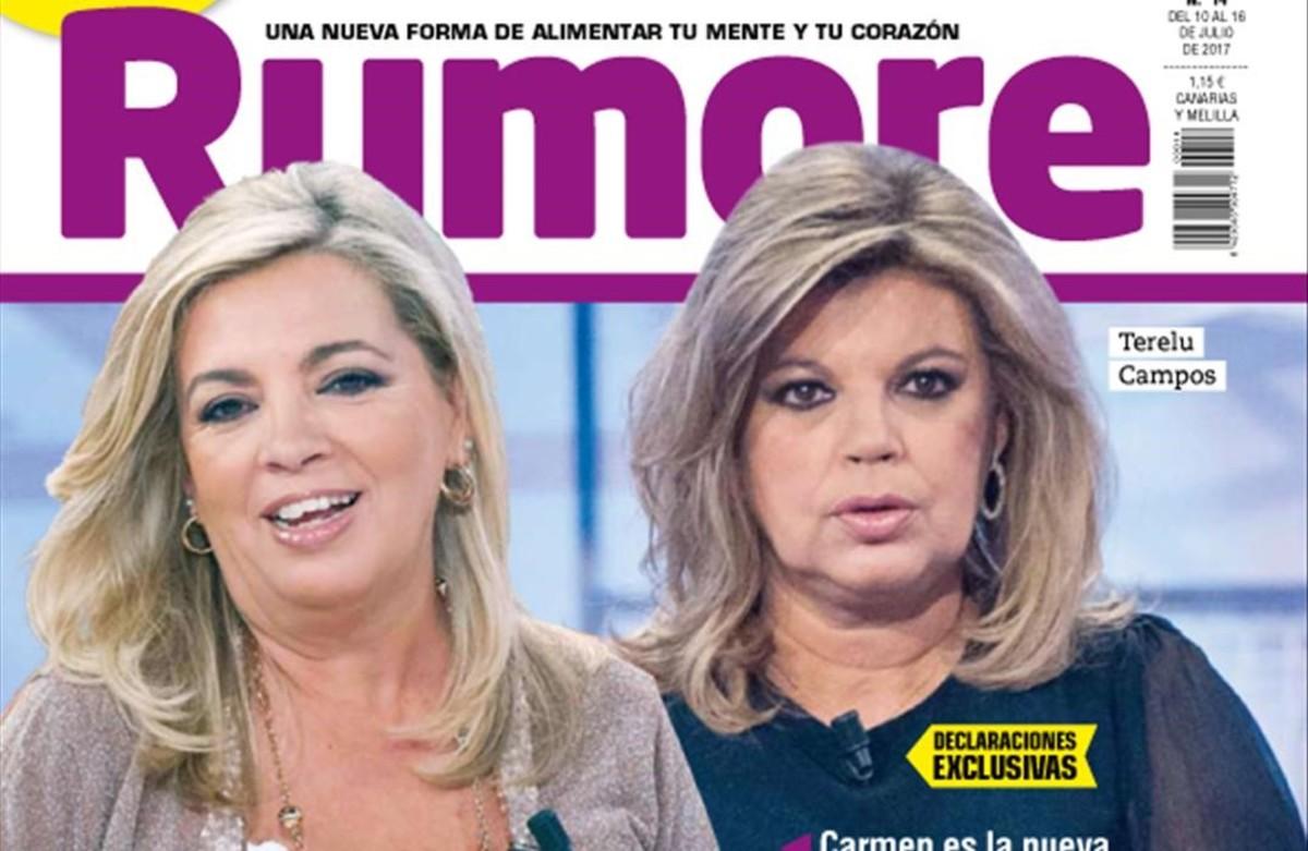 'Rumore' plantea si Carmen Borrego eclipsa a Terelu Campos