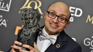 Jesús Vidal, con el Goya al mejor actor revelación