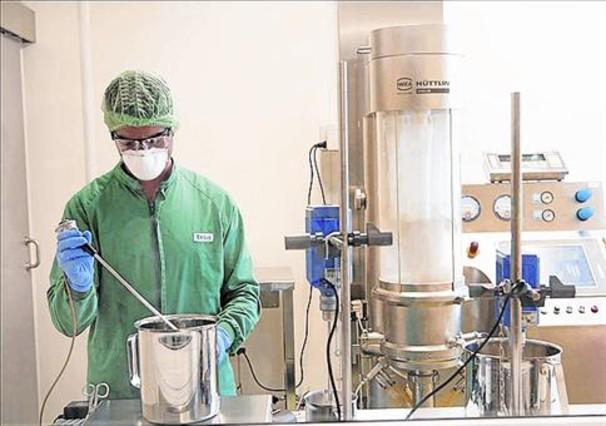 Laboratori 8 Planta pilot d'Esteve a Martorelles.