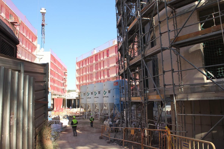 Las viviendas estarán completamente construidas en septiembre de 2017.