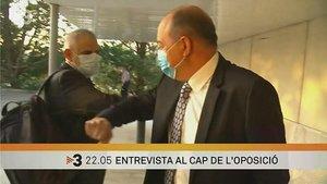Carrizosa y Sanchis, encuentro en TV-3.