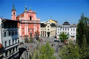 La ciudad eslovena deLiubliana.