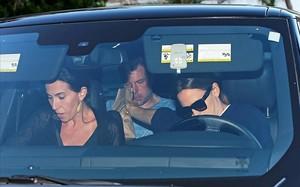 Ben Affleck, en el coche.