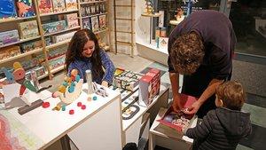 Londji, en el Born, ofrece juegos y juguetes originales.