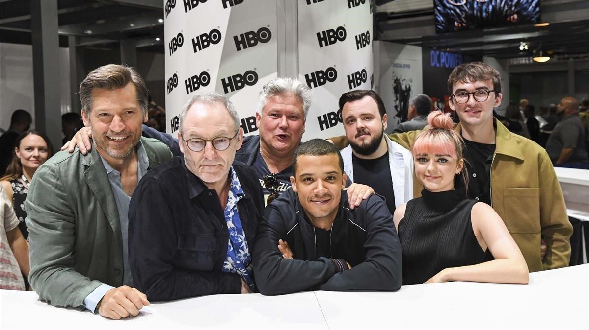 Los actores de 'Juego de tronos' que han acudido a la Comic-Con.
