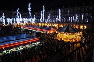 Las luces de Navidad en Madrid.
