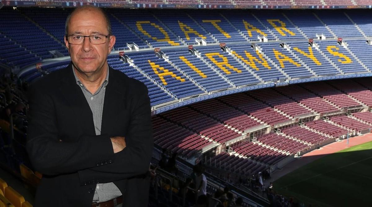 Manel Arroyo, vicepresidente de marketing del Barça.