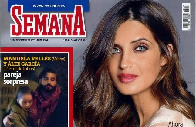 La revista 'Semana' publica la nueva relación entre los actores Manuela Vellés (Velvet) y Alex García.