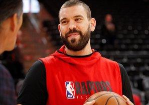 Marc Gasol es una de las bazas de los Raptors para defender el título