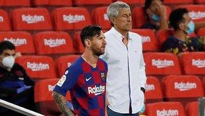 Messi i Setién, una relació trencada